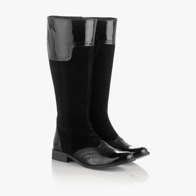 Ежедневни дамски ботуши в черно