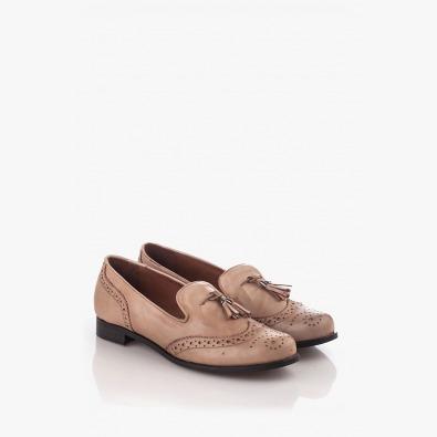 Ежедневни дамски обувки с аксесоар