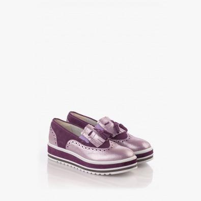Дамски ежедневни обувки в лилаво