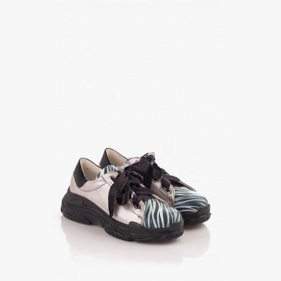 Цветни дамски спортни обувки