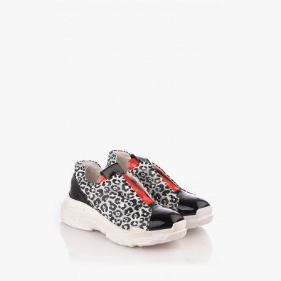 Спортни дамски обувки с принт