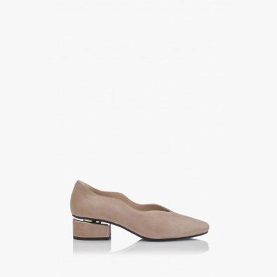 Висококачествени велурени дамски обувки Нора