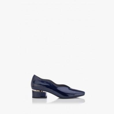 Дамски обувки син лак Нора