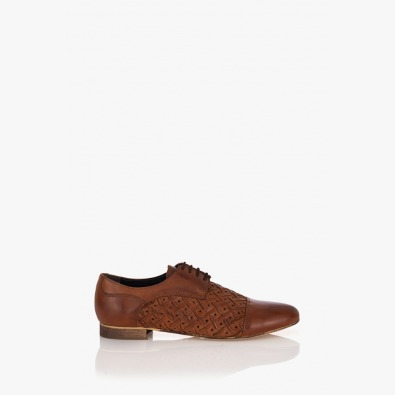 Дамска обувка Жейд карамел
