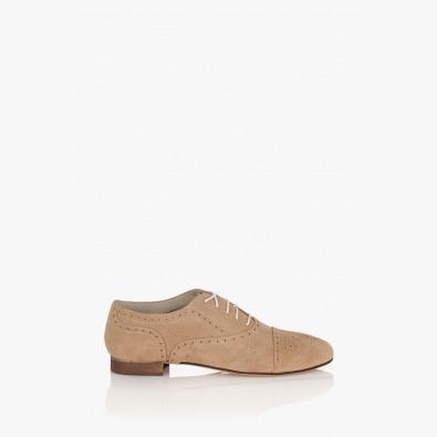 Бежова дамска обувка Джулиана