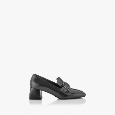 Дамски обувки сив лак Елла