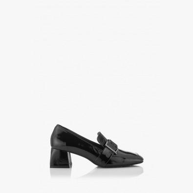 Дамски обувки черен лак Елла