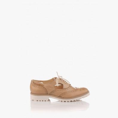 Летни дамски обувки в бежов цвят Емма