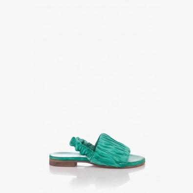 Дамски сандали в зелен цвят Тейлър