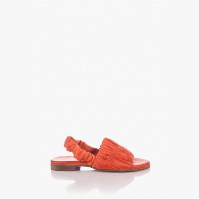 Кожени дамски сандали с ластик Тейлър
