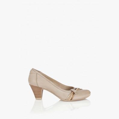 Кожена дамска обувка Валентина
