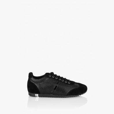 Мъжка спортна обувка Леонардо черна