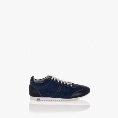 Мъжка спортна обувка Леонардо синя