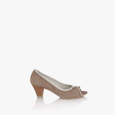 Велурени дамски обувки Мелиса
