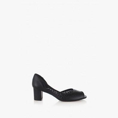 Летни дамски обувки Елиан в черно