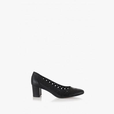 Елегантни дамски обувки Пейзли в черно