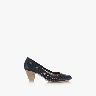 Дамски елегантни обувки в синьо Бриела