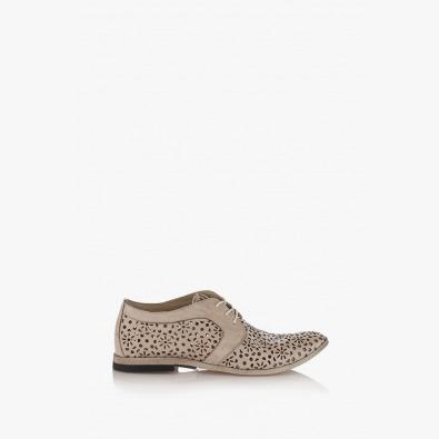 Бежови дамски обувки Фиори
