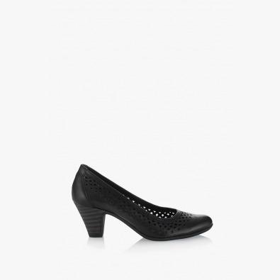 Черни дамски обувки Бриела
