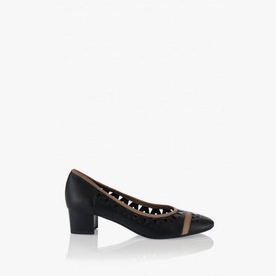 Дамски черни обувки Сийди
