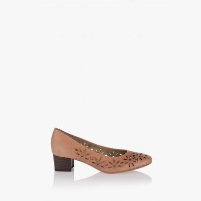 Дамски перфорирани обувки Кеълин