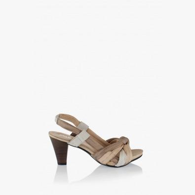 Кожени дамски сандали Кари