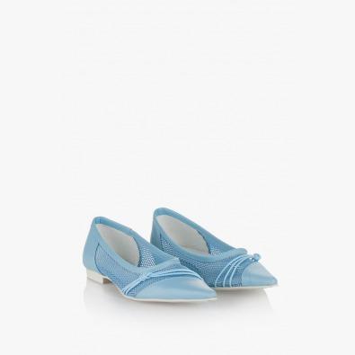 Дамски обувки Дани сини