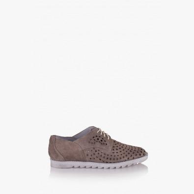 Дамски обувки с перфорация Британи