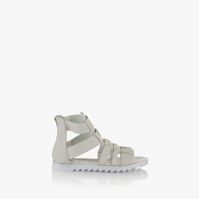 Дамски сандали Римини кожа айс