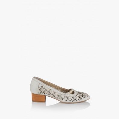 Перфорирани дамски обувки Лондон