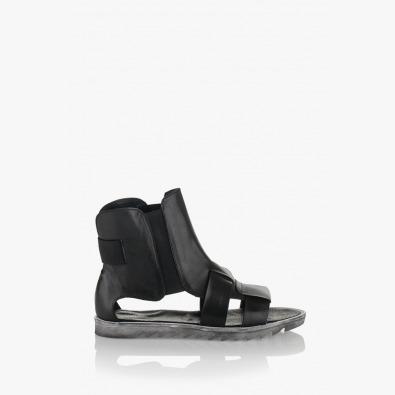 Дамски черни сандали Римини 2