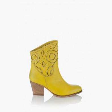 Летни ботуши Ашли, жълти