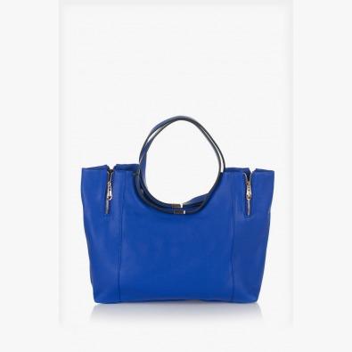 Синя дамска чанта Сийди