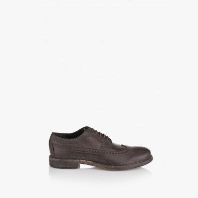 Кафяви мъжки обувки Базил