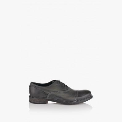 Черни мъжки обувки с връзки Бенет