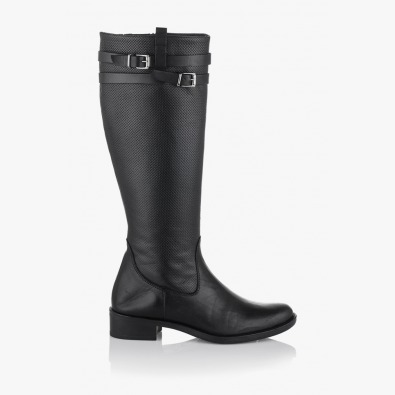 Дамски зимни ботуши в класическо черно Клеменси