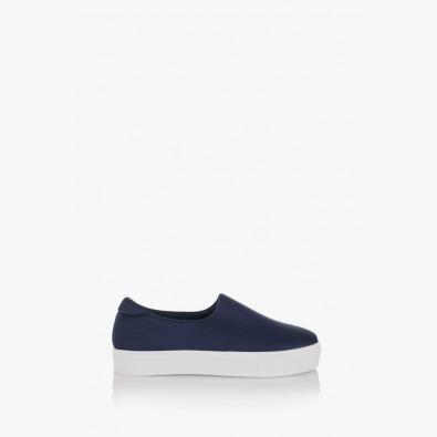 Тъмно сини дамски спортни обувки Нео