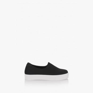 Черни неопренови спортни обувки Нео