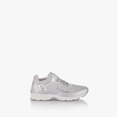 Спортни дамски обувки Адона сребро