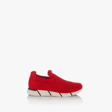 Дамски червени спортни обувки Бел