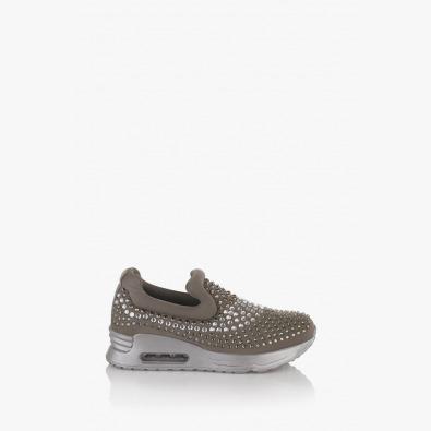 Дамски спортни обувки в сиво Белла