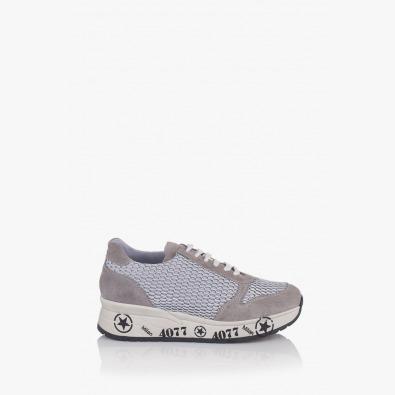 Спортни дамски обувки в сиво Ивет