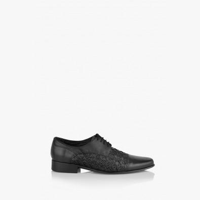 Черни мъжки обувки Грант