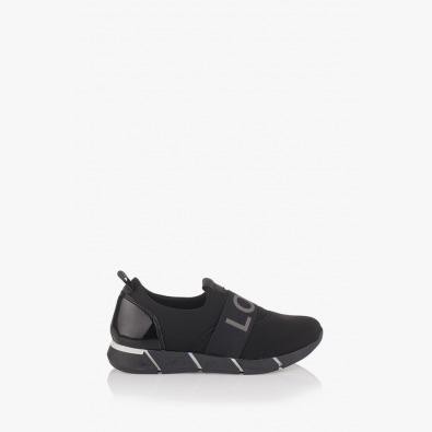 Черни дамски спортни обувки Лил