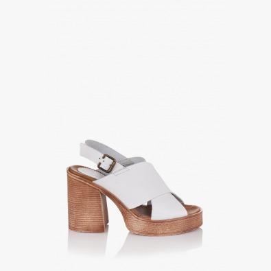 Дамски бели сандали Фрей