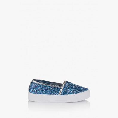 Светло сини дамски обувки Каприс