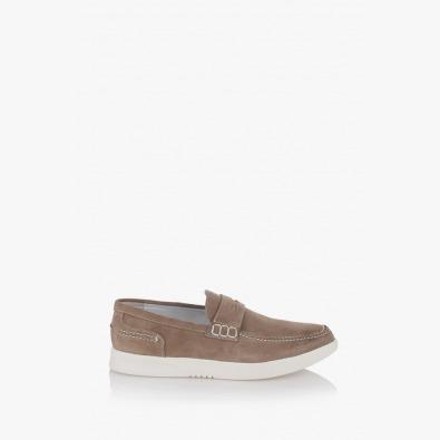 Велурени мъжки обувки Скот