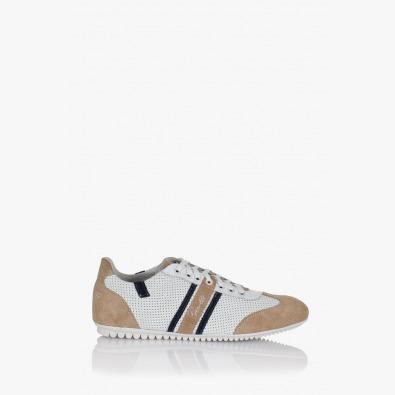 Спортни мъжки обувки Бенджамин естествен велур