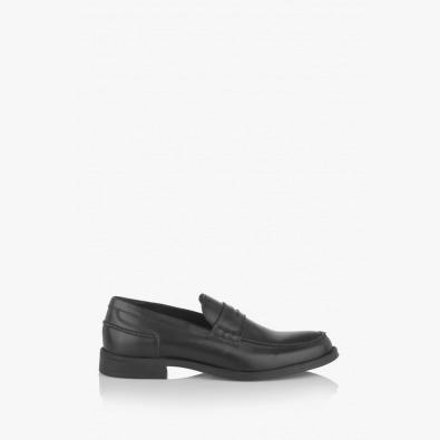 Черни мъжки обувки Колидж