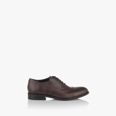 Мъжки класически обувки в кафяво Фабианно